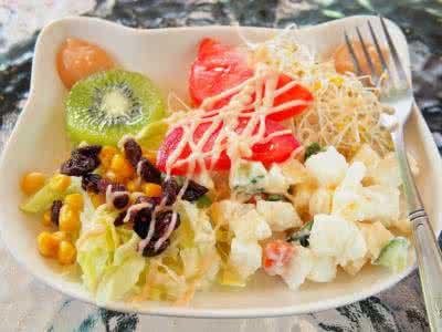 秋季减肥养生食谱之果蔬沙拉g