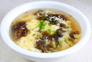 (六)黄瓜鸡蛋紫菜美容汤-做法和功效