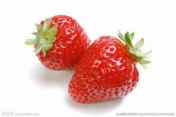 草莓富含胡萝卜素与维生素A