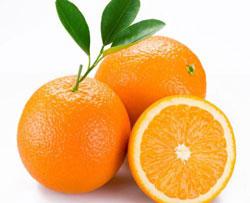 绿色养生产品橙子