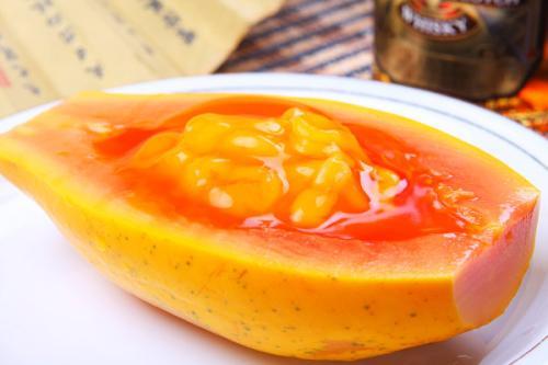 养生健康产品木瓜