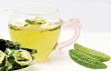 养生茶配方⑩苦瓜茶