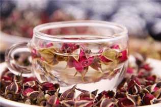 养生茶配方⑮玫瑰花茶