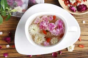 养生茶(保健茶)配方40-玫瑰花组合茶