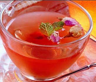养生茶(保健茶)配方49-西红柿玫瑰茶