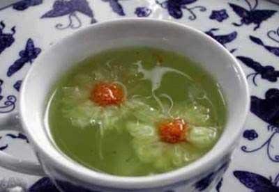 养生茶(保健茶)配方50-绿豆菊花茶