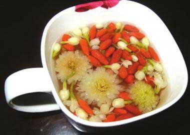 养生茶(保健茶)配方53-枸杞防暑茶