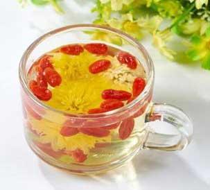 养生茶(保健茶)配方55-枸杞菊花茶