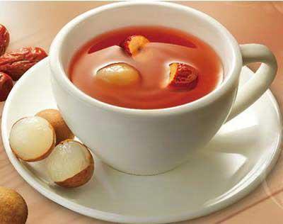 养生茶(保健茶)配方67-桂圆红枣茶