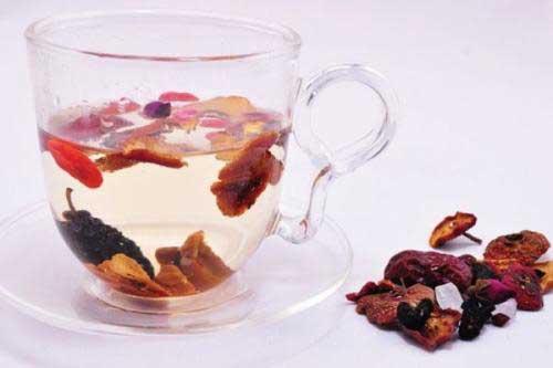 养生茶(保健茶)86-红枣玫瑰山楂茶