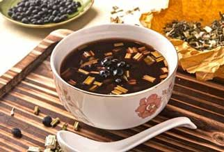 养生茶(保健茶)88-黑豆苏木茶