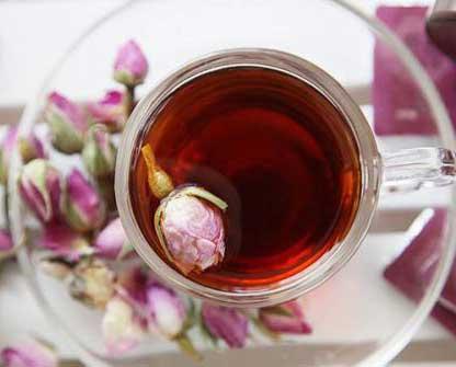 养生茶(保健茶)101-玫瑰普洱茶