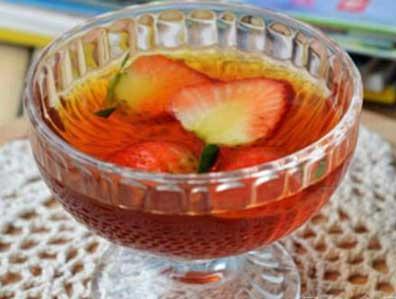养生茶(保健茶)113-草莓蜂蜜红茶