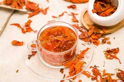 养生茶(保健茶)124-百合花茶