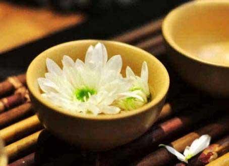 养生茶(保健茶)132-牛蒡子白菊花茶