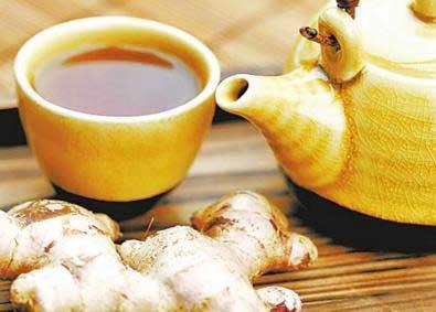 养生茶(保健茶)133-生姜柿蒂茶