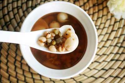 养生茶(保健茶)136-薏仁减肥茶