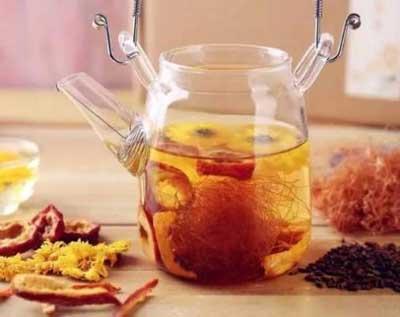 养生茶(保健茶)139-山楂银菊茶