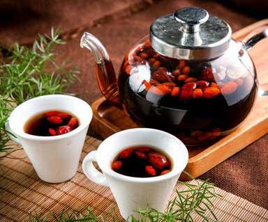 养生茶(保健茶)159-枸杞龙茶