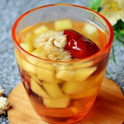 养生茶(保健茶)197-水梨红枣冰糖茶