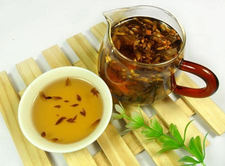 养生茶(保健茶)214-葛花茶