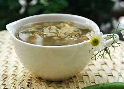 养生茶(保健茶)223-绿豆薏仁汤